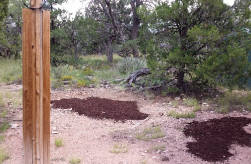 Mulch in place