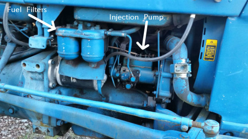Injection Pump and Fuel Filters