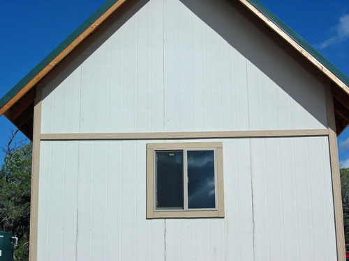 West Side Window Trim