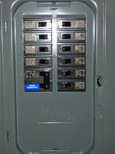 Breaker Box Closed